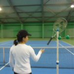 tennis aids helps to memorize specific positions