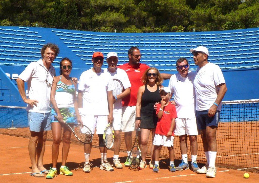 Tennis - Bol - Croatia Coach Mili Split
