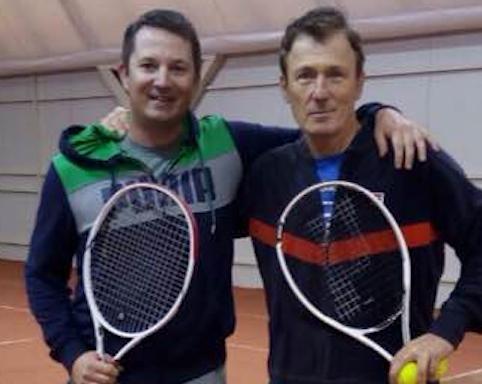 Tomaz Mencinger and Mili Split Veljkovic PTR Pros with MSM license